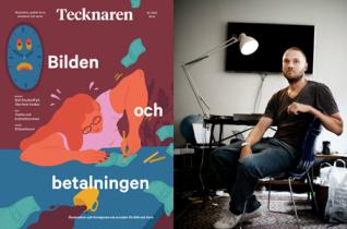 Bild omslag Tecknaren: Sara Andreasson, foto Martin Kellerman: Lina Alriksson