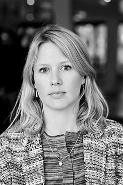 Hanna Nilsson, styrelseledamot Svenska Tecknares styrelse